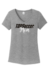 Picture of TOPSoccer V-Neck Short-Sleeve T-Shirt