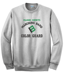 Picture of Mason Band Embroidered Crewneck Sweatshirt
