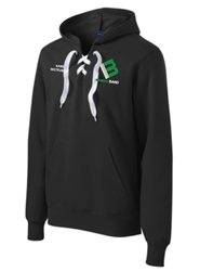 Picture of Mason Band Lace-Up Hoodie