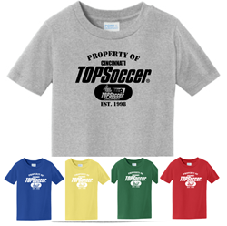 Picture of TOPSoccer Cotton TODDLER  T-shirt