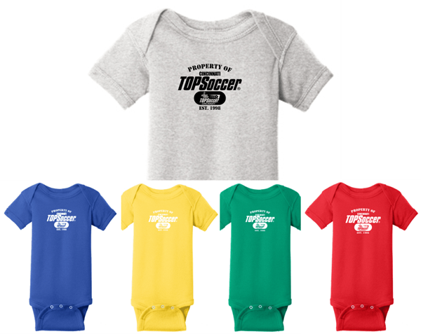 Picture of TOPSoccer Cotton INFANT  Onesie