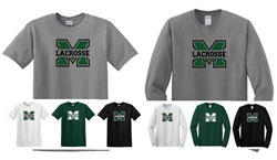 Picture of Girls MHS LAX Cotton Short or Long Sleeve T