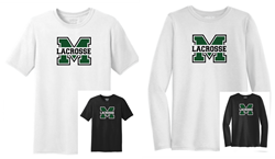 Picture of Girls MHS LAX Performance Short or Long Sleeve T