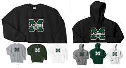 Picture of Girls MHS LAX Crewneck Sweatshirt